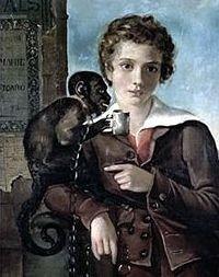Portrait of Marius Petipa aged nine (1827)