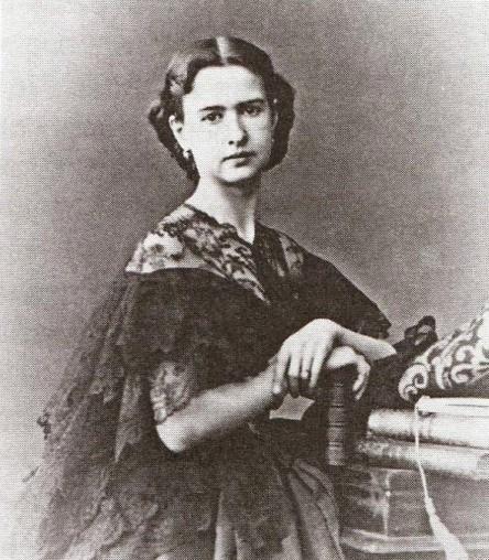 Maria Surovshchikova-Petipa, Petipa's first wife (1860)